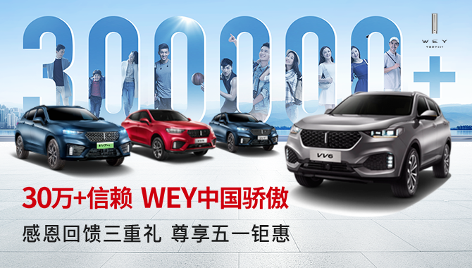 30万+信赖 WEY中国骄傲
